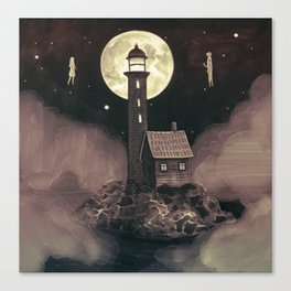 Lighthouse Ghosts Canvas Print