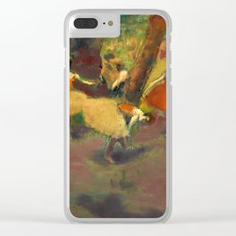 Edgar Degas - Before the Performance, 1896 Clear iPhone Case