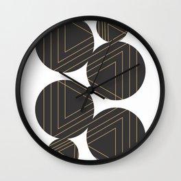 Abstract Geometry #society6 #decor #buyart Wall Clock