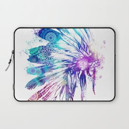 mandala colorful headdress Laptop Sleeve