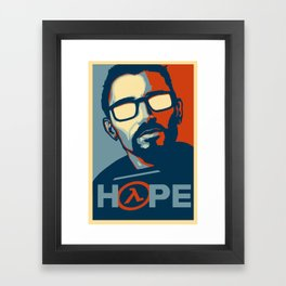 Half Life Hope Framed Art Print
