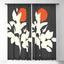 Minimalist Abstract Art #18 Blackout Curtain
