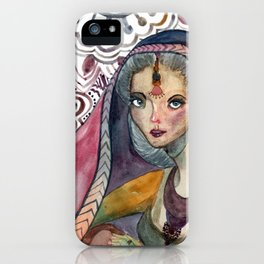 Sari iPhone Case