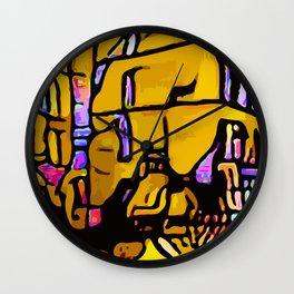 Kolage ~ Egyptian Gold ~ 1 Wall Clock