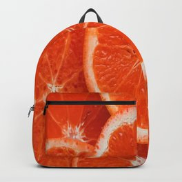 Orange-citrus-slices Backpack