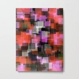 Prophylactic Squares Metal Print
