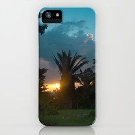 Jungle Sunrise iPhone Case