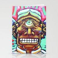 cyclops Stationery Cards featuring CYCLOPS by Jamil Zakaria Keyani
