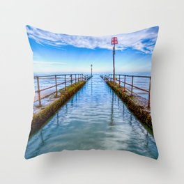 River Outlet Throw Pillow