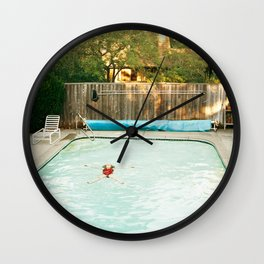 Pool Angel Wall Clock