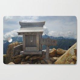 Mountain Shrine Cutting Board