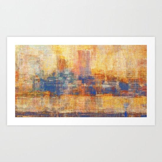 Dawn Yellowish Art Print