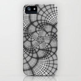 Hyperlane Lattice iPhone Case