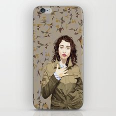 Regina Spektor iPhone & iPod Skin