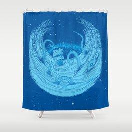 Kraken's Whirlpool II Shower Curtain
