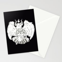 Baphomet is love Baphomet is life Stationery Cards