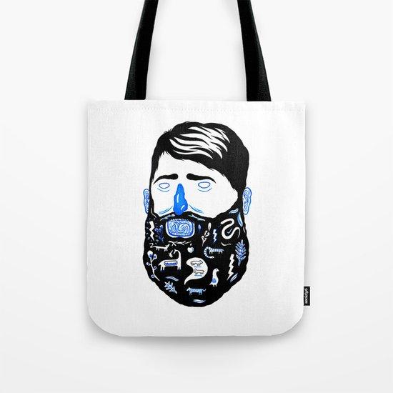 Animal Beard Tote Bag