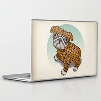 puppy Laptop & iPad Skins featuring PUPPY by evafialka