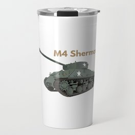 Sherman American WW2 Tank Travel Mug