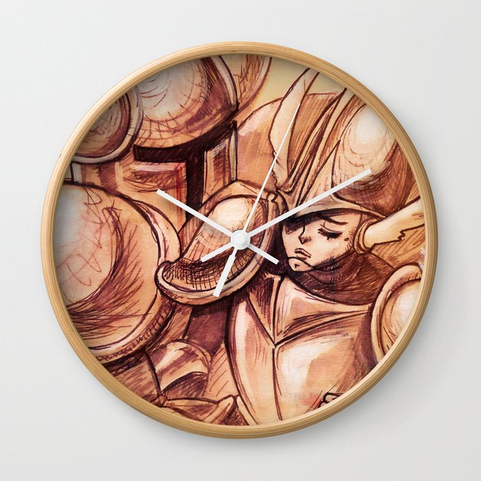 ...you caught me Wall Clock