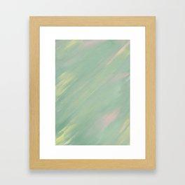 Pastel Haze Framed Art Print
