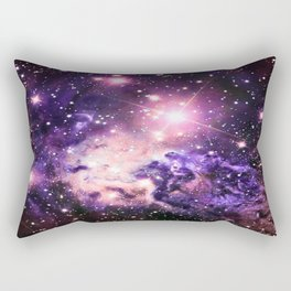 Fox Fur Nebula : Pink Purple Galaxy Rectangular Pillow