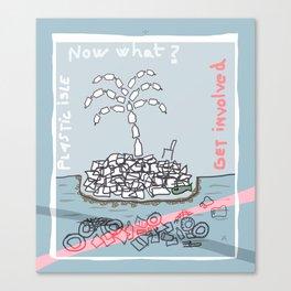 Plastic Isle Canvas Print