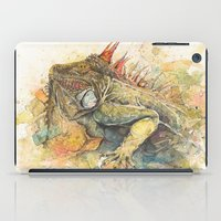 "iggy iPad Cases featuring ""Iggy Punk"" by PaintedBunting"