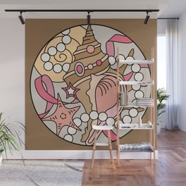 Conch Shell Wall Mural