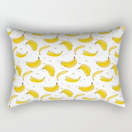 Banana print Rectangular Pillow