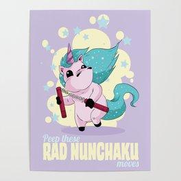 Rad Nunchaku Poster