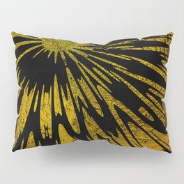 Native Tapestry in Gold Pillow Sham