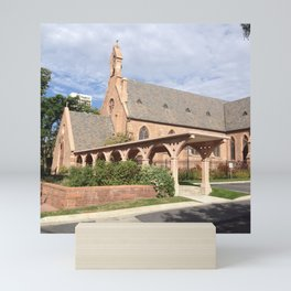 St. Mark's Cathedral, Salt Lake City Mini Art Print