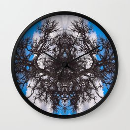 A Network of Trees in the Sky Wall Clock