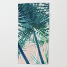 Tropical Palm #society6 #buyart #home #lifestyle Beach Towel