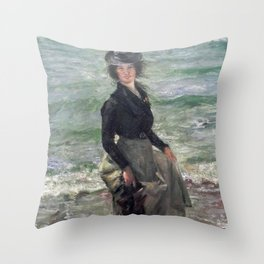Paddle Petermannchen - Lovis Corinth Throw Pillow