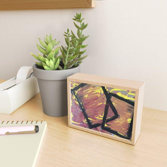 Love Frames Framed Mini Art Print