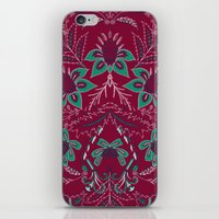 folk iPhone & iPod Skins featuring Folk by Laura Braisher