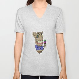 Ice-cream Goblin Unisex V-Neck
