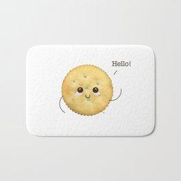 Super Cute Realistic Cracker Kawaii (Clever huh?) :p Bath Mat