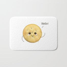 Super Cute Realistic Cracker Kawaii (Clever huh?) :p Bath Mat