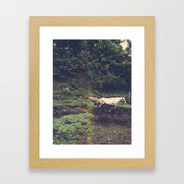 Leaving Framed Art Print
