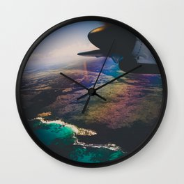 the air up there Wall Clock
