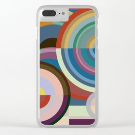 Colour Revolution THREE Clear iPhone Case