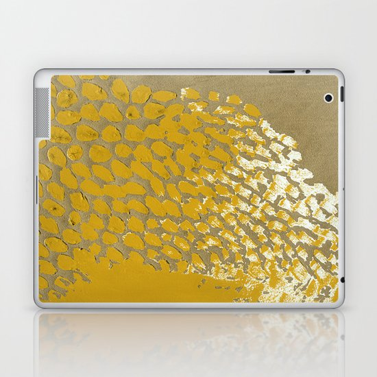 GOLD NO.4 Laptop & iPad Skin