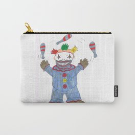 Creepy Twisty Clown Carry-All Pouch