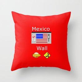 Mexico Wall Throw Pillow