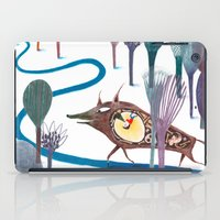 tom selleck iPad Cases featuring Tom Thumb by Paloma Corral