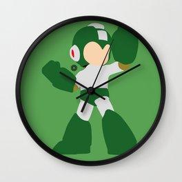 Mega Man(Smash)Green Wall Clock