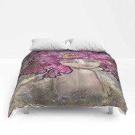 Peony2 Comforters